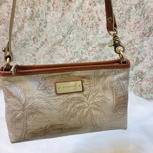 BRAHMIN COPA CABANA Leather ANYTIME MINI Bag